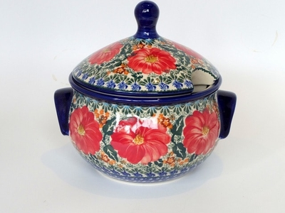ポーランド キャセロール/大鉢/大皿 電子レンジ オーブン 食洗器対応 ポーランド食器