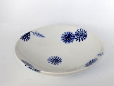 九谷青窯18cm皿