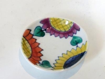 九谷青窯10cm 小皿