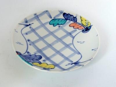 九谷青窯 15cm小皿