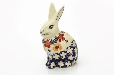 ポーランド 置き物 ウサギ