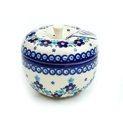 ポーランド リンゴポット/アップルポット 電子レンジ/オーブン/食洗器対応/ALEGRE