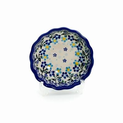 ポーリッシュポタリー 菊鉢12cm 電子レンジ/オーブン/食洗器対応/ALEGR