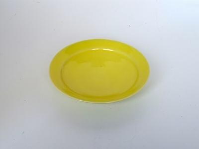 【木村宜正】 小皿13cm レモンイエロー