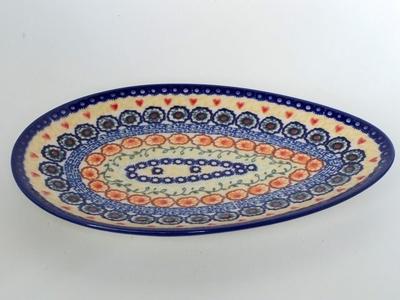 ポーランド楕円皿 電子レンジ/オーブン/食洗器対応/alegre