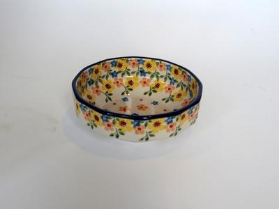 ポーリッシュポタリー ポーランド小鉢 12.5cm 電子レンジ/オーブン/食洗器対応