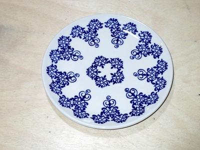 ポーリッシュポタリー 16cm皿 電子レンジ/オーブン/食洗器対応