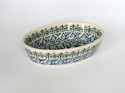 ポーリッシュポタリー グラタン皿/楕円皿 電子レンジ/オーブン/食洗器対応/ALEGR