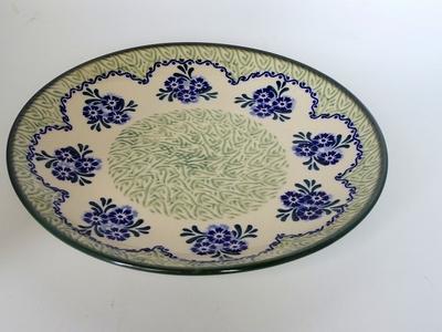 ポーリッシュポタリー 大皿25cm