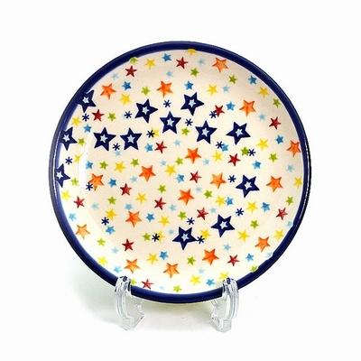 ポーリッシュポタリー17cm小皿/プレート 電子レンジ/オーブン/食洗器対応