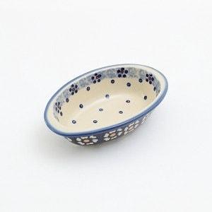 ポーリッシュポタリー オーバルミニ 電子レンジ/オーブン/食洗器対応