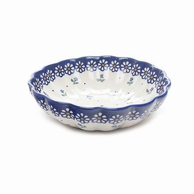 ポーリッシュポタリー 菊鉢 16cm 電子レンジ/オーブン/食洗器対応