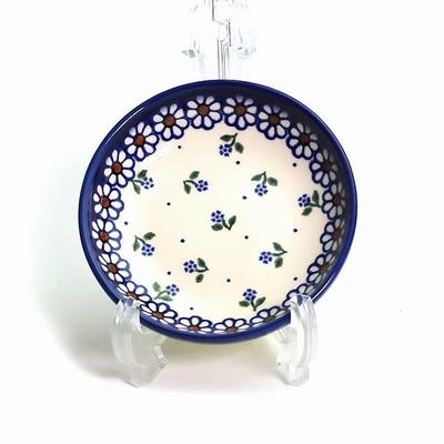 ポーリッシュポタリー 豆皿/銘々皿 11cm 電子レンジ/オーブン/食洗器対応