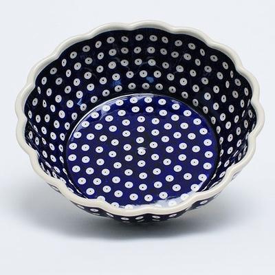 ポーリッシュポタリー 大鉢 24cm 電子レンジ/オーブン/食洗器対応