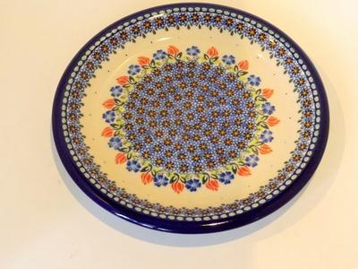 ポーランド大皿 26cm