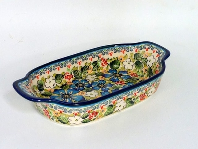 持ち手ありグラタン/楕円皿 電子レンジ/オーブン/食洗器対応