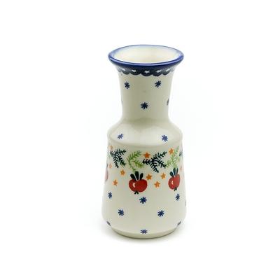 ポーリッシュポタリー クリスマスアップル花瓶