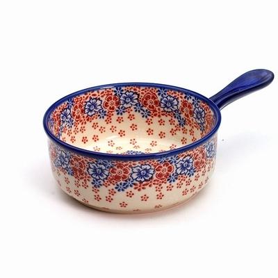 ポーリッシュポタリー グラタン皿/ソ-スパン 電子レンジ/オーブン/食洗器対応