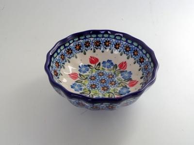 ポーリッシュポタリー小鉢 12cm 電子レンジ/オーブン/食洗器対応