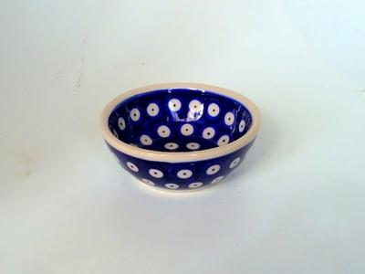 ポーリッシュポタリー ココット小鉢 約9.2cm 電子レンジ/オーブン/食洗器対応