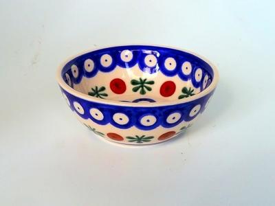 ポーリッシュポタリー ココット小鉢 約9cm 電子レンジ/オーブン/食洗器対応