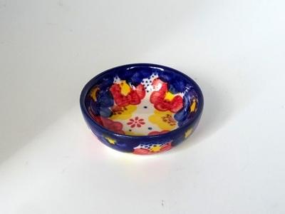 ポーリッシュポタリー 小鉢 7cm 電子レンジ/オーブン/食洗器対応