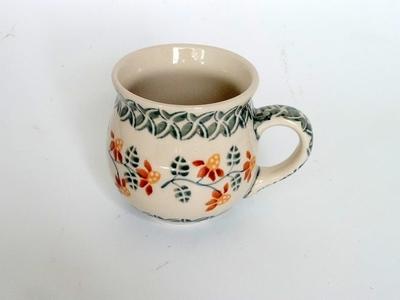 ポーリッシュポタリー マグカップ 人気柄再入荷 200ml/電子レンジ/オーブン/食洗器対応/ALEGRE