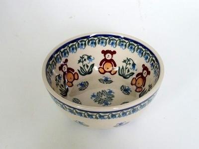ポーリッシュポタリー 小鉢12cm 電子レンジ/オーブン/食洗器対応
