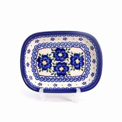 ポ^リッシュポタリー 楕円皿 オリーヴ皿 電子レンジ/オーブン/食洗器対応