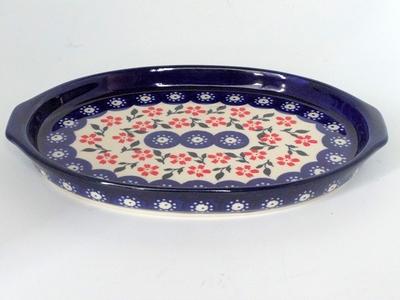 ポーランド 楕円皿 オーバルミニ21cm 電子レンジ/オーブン/食洗器対応/alegre