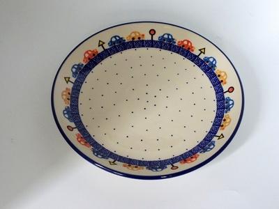 ポーランド 大皿/プレート 23cm 電子レンジ/オーブン/食洗器対応/alegre