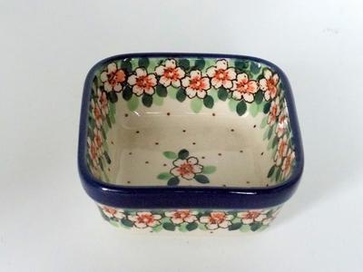 ポーランド スクエアボウル/小鉢 電子レンジ/オーブン/食洗器対応/alegre