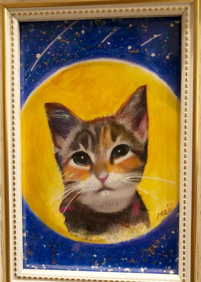 皆様の愛猫、愛犬などの肖像画を思いを込めて、描かせて頂いております。お気に入りのお写真を送ってください。
