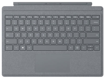 Microsoft Surface Pro Signature タイプ カバー FFP-00019 [プラチナ]