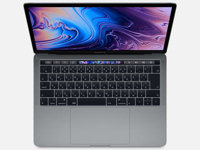 Apple MacBook Pro Retinaディスプレイ 2400/13.3 MV972J/A [スペースグレイ]