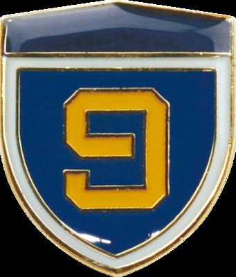 陸上自衛隊 部隊ピンバッチ 第9師団