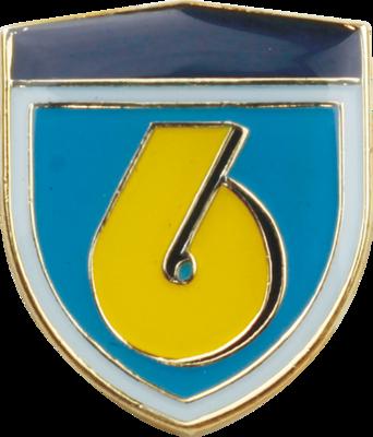 陸上自衛隊 部隊ピンバッチ 第6師団