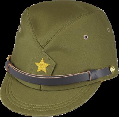 旧陸軍 戦闘帽(将校用略帽)(OD)