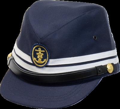 旧海軍第1種艦内帽 (将校用略帽)(紺)