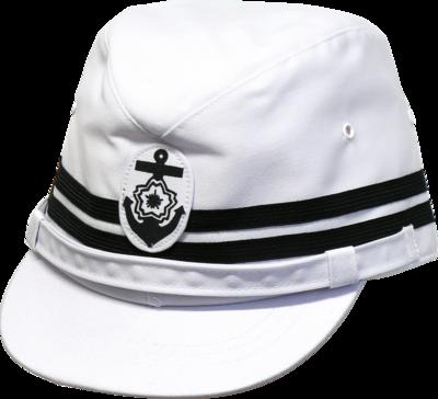 旧海軍第2種艦内帽 (将校用略帽)(白)