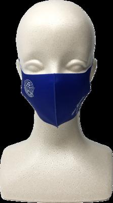 ブルーインパルス ロゴ入り布マスク 青