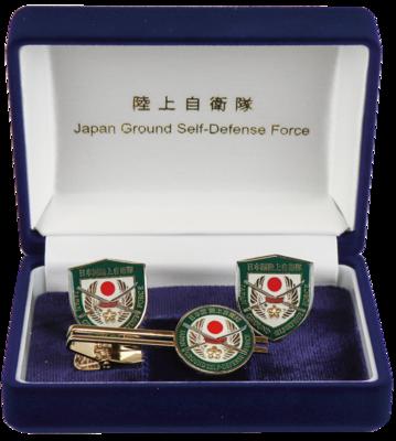 桜刀ネクタイピン・カフスセット
