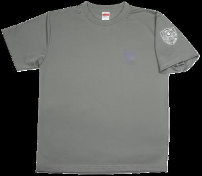 Tシャツ 桜刀エンブレム鳩グレー