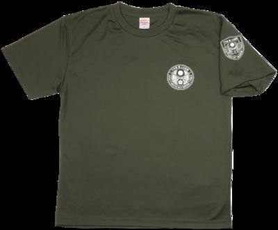 Tシャツ 桜刀エンブレムOD