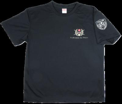 Tシャツ 桜刀エンブレム黒