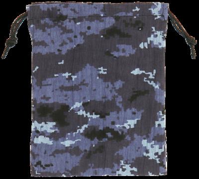 甚平生地製巾着袋(小)海自デジタル迷彩