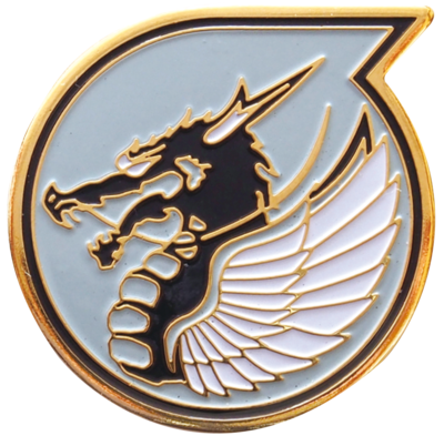 航空自衛隊 部隊ピンズ 第303飛行隊 小松基地(ドラゴン)