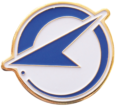 航空自衛隊 部隊ピンズ 飛行開発実験団 岐阜基地(尾翼)