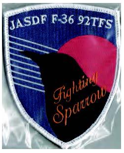 JASDF F-36 スパローパッチ