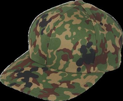 陸自迷彩野球帽タイプ 刺繍なし